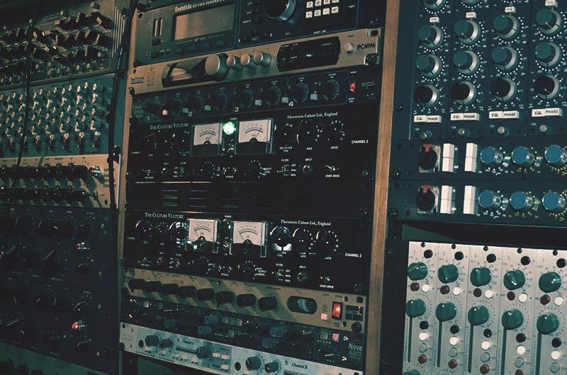 Recording Studio Rack Gear