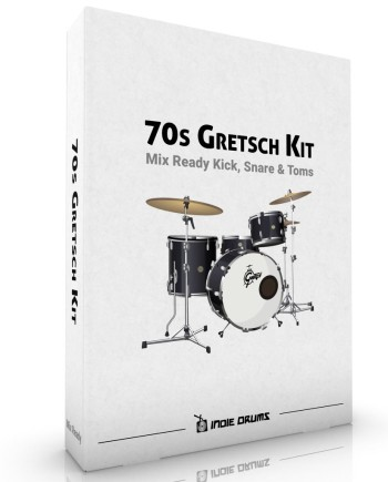 70s Gretsch Drums Kit Samples | Indie Drums