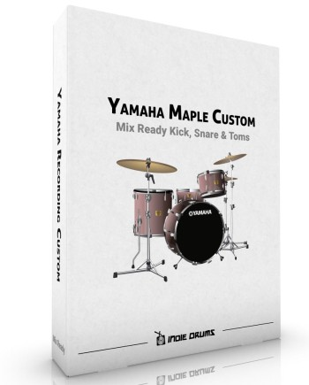 Yamaha Maple Custom Drum Samples by Indie Drums