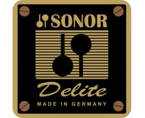 Sonor Delite Drum Badge