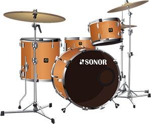 Sonor Delite 4 Piece Drum Kit