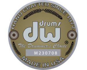 DW Collectors Drum Badge Illustration