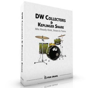 DW Collectors Kit With Keplinger Brass Snare Drum Samples