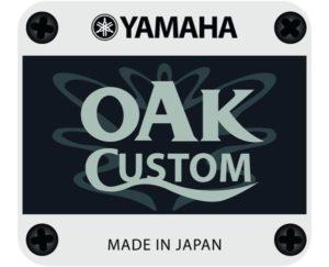 Yamaha Custom Oak Snare Badge