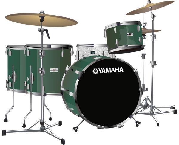 Yamaha Recording Custom Drumkit