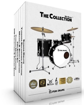 The Collection - Mix Ready Acoustic Drum Samples | Indie Drums