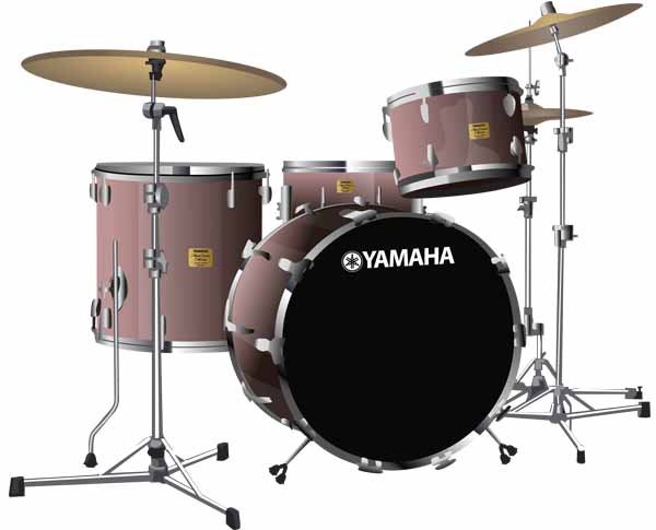 Yamaha Maple Custom Absolute Drumkit
